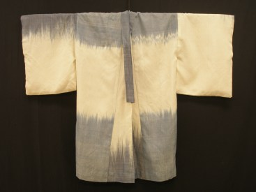 Indigo Ikat Robe